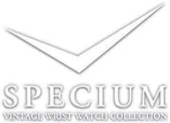 SPECIUM  VINTAGE WRIST WATCH COLLECTION